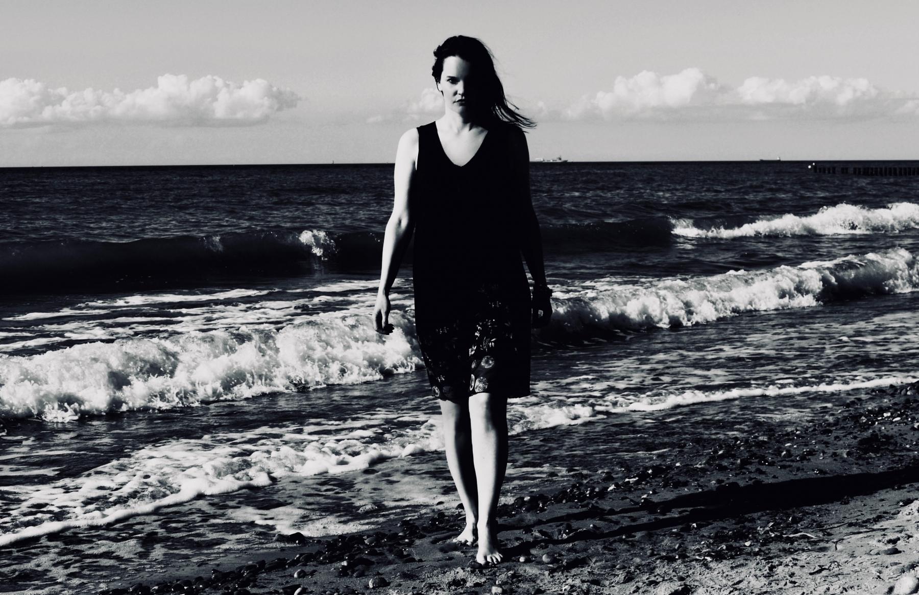 At the sea...