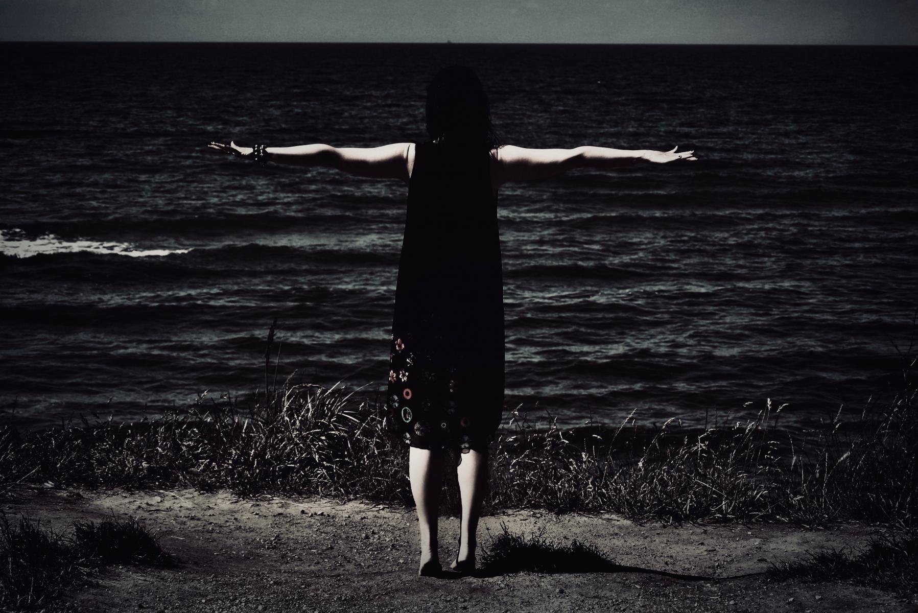 At the edge...